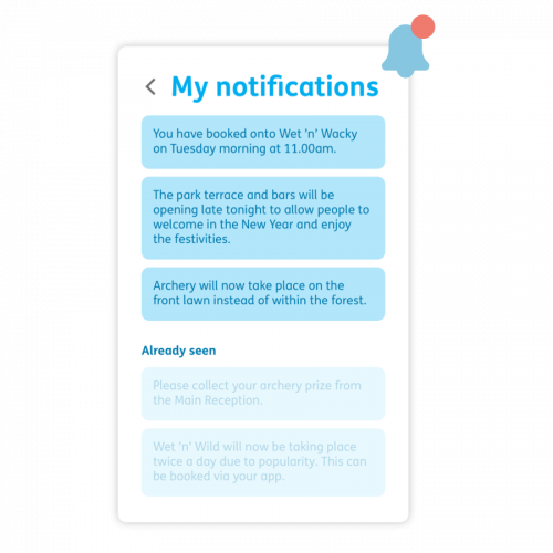 Get notifications and announcements